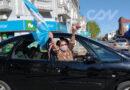 """Banderazo """"por la república"""" en Olavarría: carteles, música y bocinazos"""