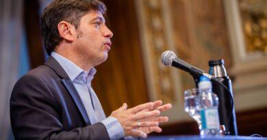 """Kicillof: la suspensión de las PASO """"no es un tema prioritario"""""""