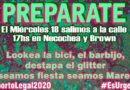 """La """"marea verde"""" vuelve a las calles para pedir aborto legal"""