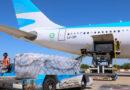El vuelo a Rusia para traer la segunda tanda de vacunas parte el jueves