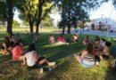 Con la vista en el 8M, se reunió la Asamblea Feminista en el Parque Mitre
