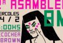 Este miércoles, segunda asamblea feminista hacia el 8M