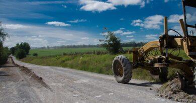 Más de los 120 millones de pesos para caminos rurales