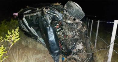 Un olavarriense falleció en un accidente ocurrido en cercanías de Puerto Madryn