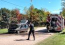 Un auto tomó fuego en Parque Arano