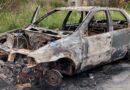 Incendio de un auto en barrio 4 de Octubre