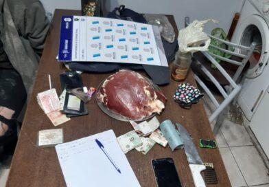 """Encuentran carne de abigeatos y armas en allanamientos: había una """"carnicería clandestina"""""""