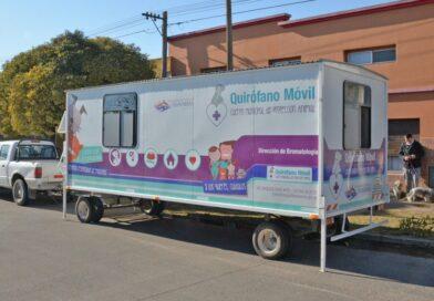 El Quirófano Móvil continuará en el barrio Hipólito Yrigoyen