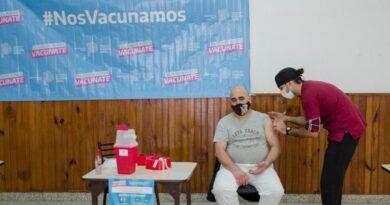 El Plan de Vacunación llegó a Sierras Bayas y en total en el partido se aplicaron 500 dosis