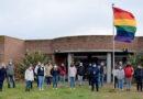 Día del Orgullo: la bandera de la diversidad flameó en el campus de Unicén