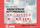 Este sábado asumen los Comités de Circuito de la UCR local