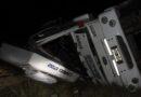 Ruta 51: Camionero olavarriense herido tras un violento choque