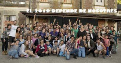 """El teatro comunitario en Olavarría de la mano de """"Los Bufones del Andén"""""""