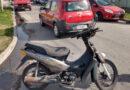Una motociclista debió ser hospitalizada tras un siniestro vial