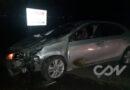 Violento accidente en Ruta 226: un auto chocó a una vaca