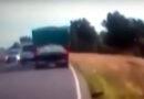 Ruta 51: Casi provoca una tragedia y Seguridad Vial pidió suspenderlo