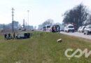 Investigan las circunstancias de muerte de un motociclista en ruta 51