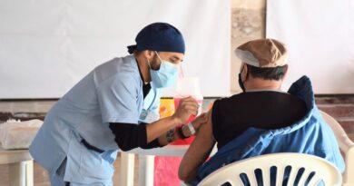 Campaña de vacunación: más de 100 personas se vacunaron en Espigas