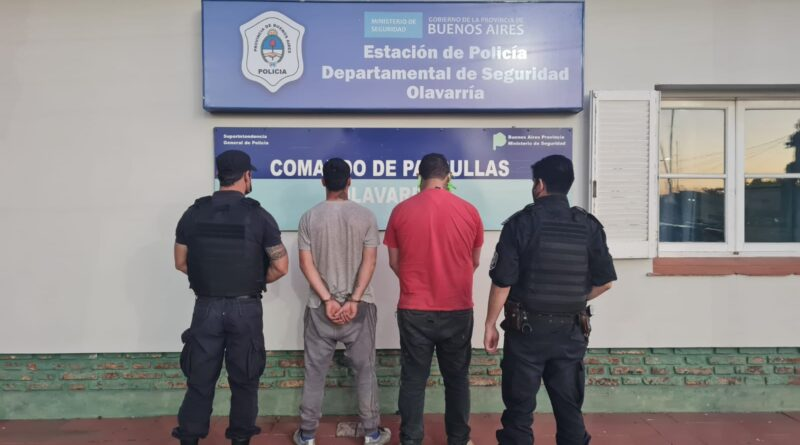Disparos y persecución: Dos hombres fueron retenidos