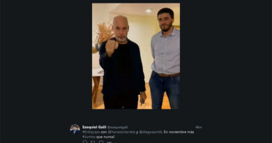 Rodríguez Larreta con Ezequiel Galli, para capitalizar el triunfo en las PASO