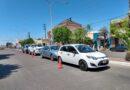 Triple choque en avenida Colón: un hombre herido