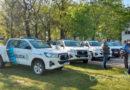 Todo listo para la entrega de patrulleros encabezada por Kicillof y Berni