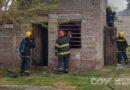 Importantes pérdidas en el incendio de una vivienda