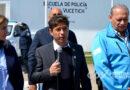 Kicillof anunció suba salarial y en las horas CORES en el acto en Olavarría