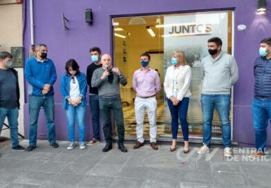 """El curismo inauguró su local: """"el Frente Juntos tiene que ampliar sus bases políticas"""""""
